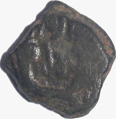 AE16. Reino Nabateo. Aretas IV, 9 a.C - 40 d.C.   664a12