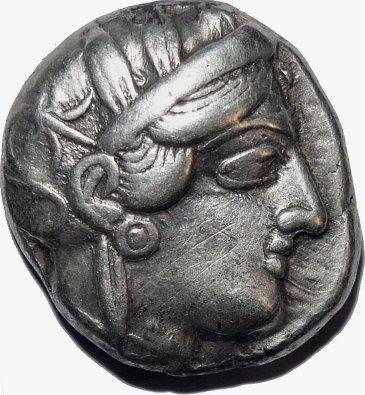 Tetradracma ática, Atenas. 449-413 a.C. 68110