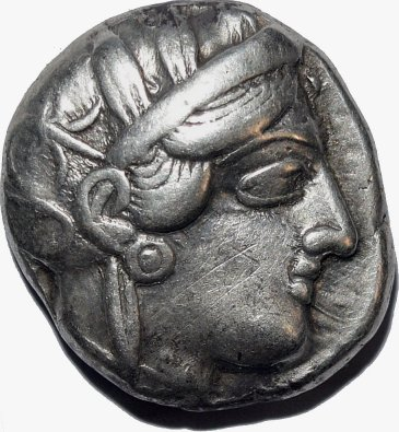 Tetradracma attica, Atenas. 449-413 a.C. 68111
