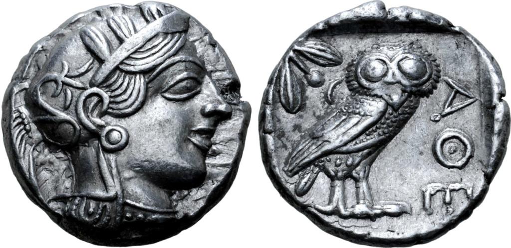 Tetradracma attica, Atenas. 454-404 a.C. 69810