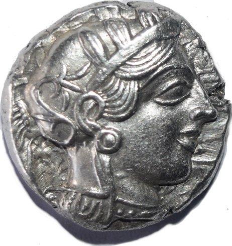 Tetradracma attica, Atenas. 454-404 a.C. 698a10