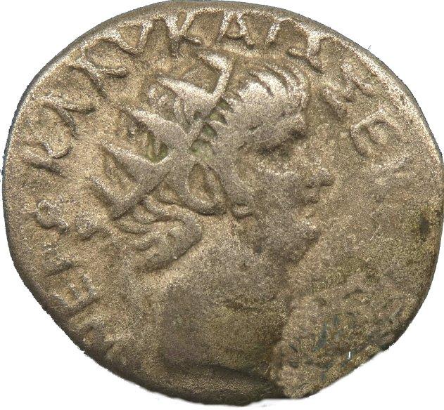 Tetradracma de Nerón con Popea. Egipto, Alejandría. 63-64 d.C. 73410