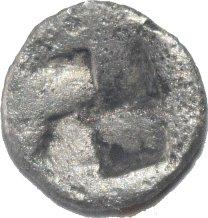 Hemiobolo. Tracia, Chersonesos. 500 a.C. 748a12