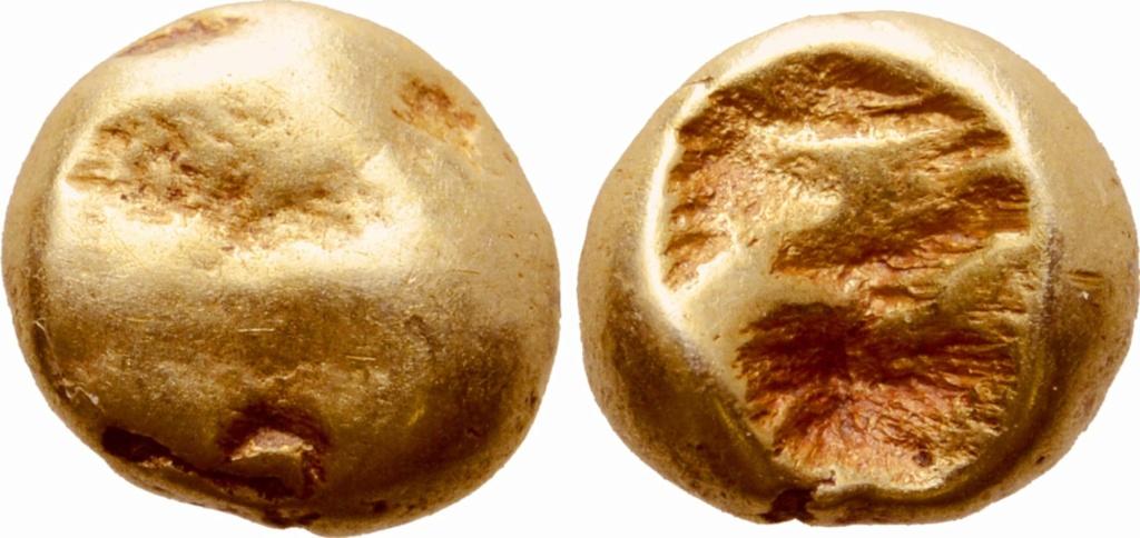 1/24 de estatera de electrón. Jonia. Ceca incierta. Ca. 600-550 a.C.  75010