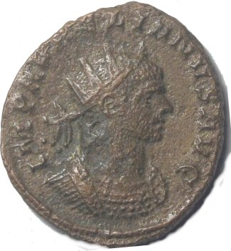 Antoniniano de Aureliano. IOVI CONSER. Siscia 76010