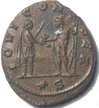 Antoniniano de Aureliano. IOVI CONSER. Siscia 760a10