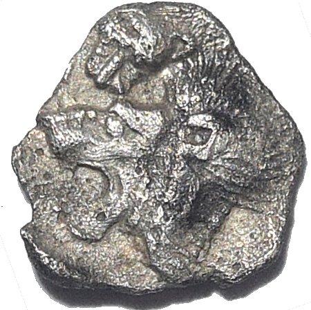 Hemiobolo. Kyzikos, Mysia. 525-470/450 a.C. 772a10