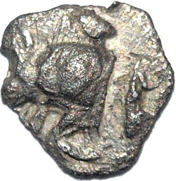Hemiobolo. Kyzikos, Mysia. 525-470/450 a.C. 772b10