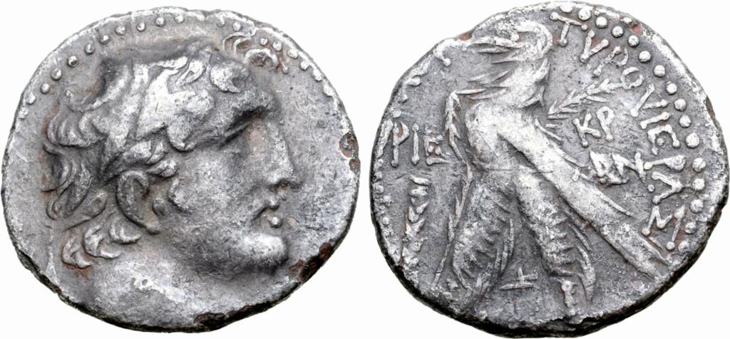 Shekel de Tiro. La moneda de la traición 778b10