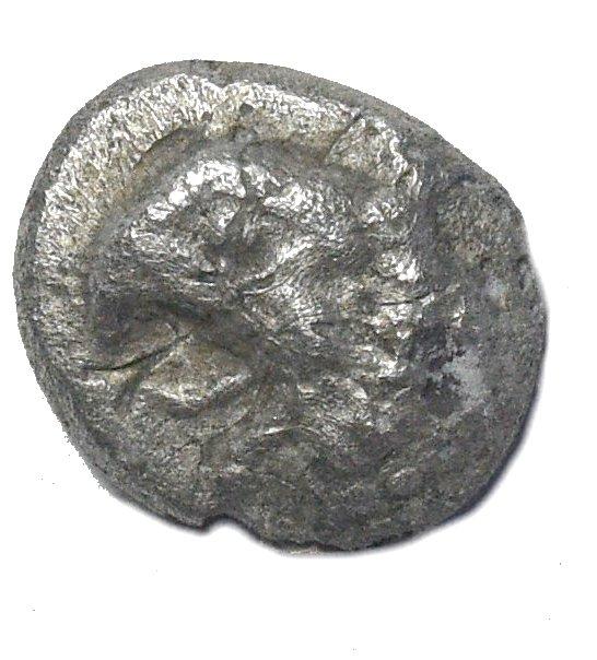 Ionia, Focea. Trihemiobolo de plata. 780c10