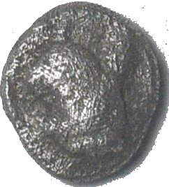 Tetartemorion. TEOS, Ionia. Ca 500-447 a.C.  78410