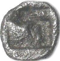 Tetartemorion. TEOS, Ionia. Ca 500-447 a.C.  784a10