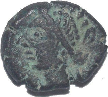 Dracma de Orodes V. Cabeza de Artemis.  791a10