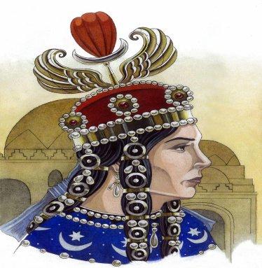 Dracma de plata. Reina Boran, Imperio Sasanida. 628 o 631d.C. Dedit Maestro Benyusuf Boran11