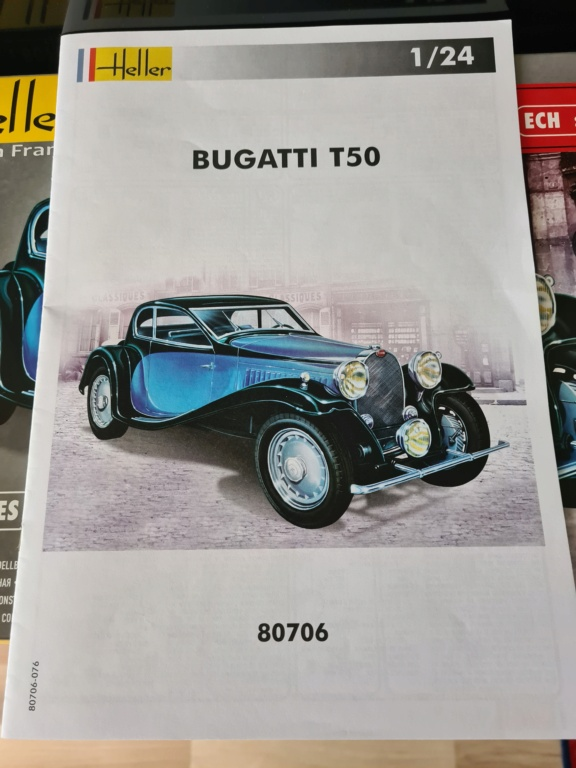 From the box - Bugatti T-50 heller 1/35 20201118