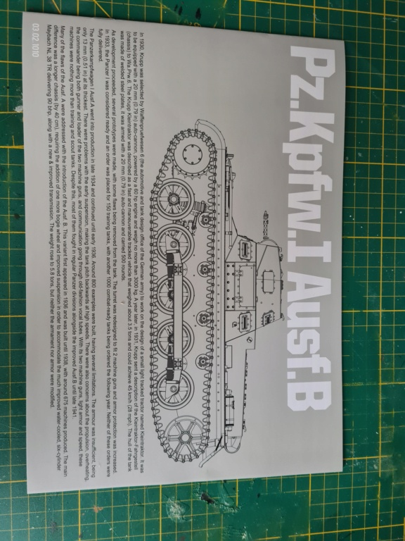 Panzer 1 Ausf.B - Takom 1/16 20201212