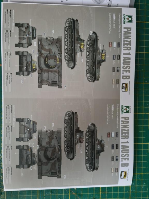 Panzer 1 Ausf.B - Takom 1/16 20201225