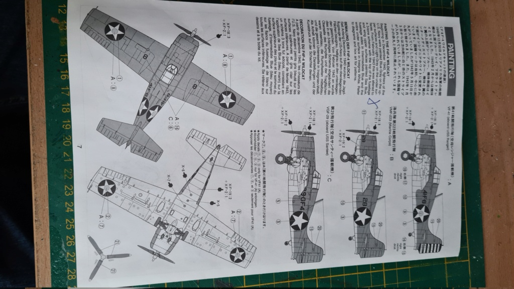 F4F-4 Wildact Tamiya 1/48 20210235