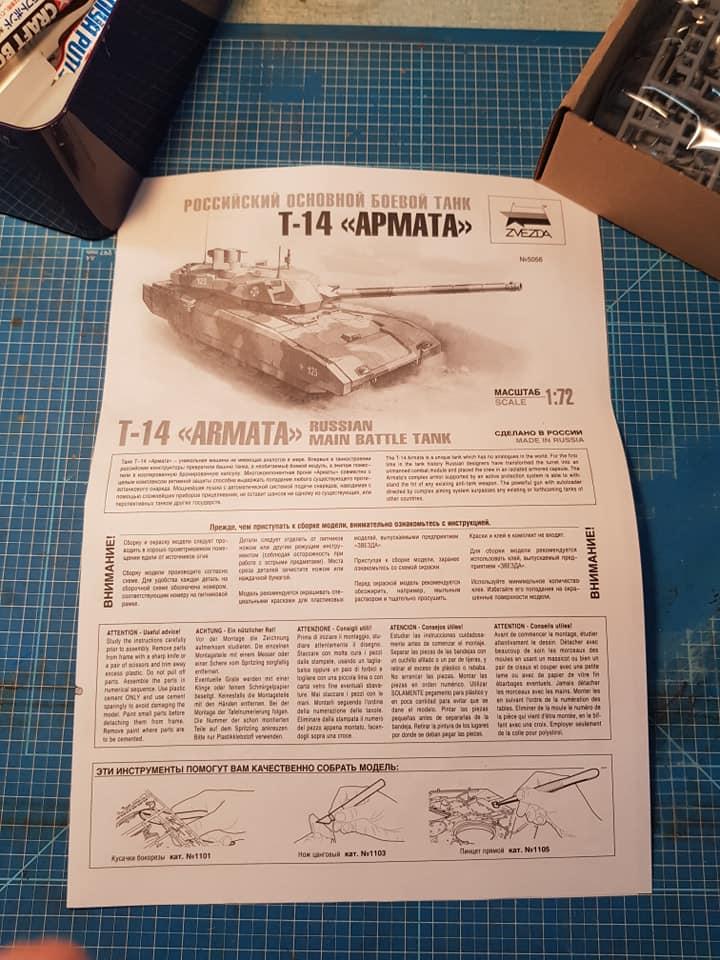 T-14 Armata zvezda 1/72 73277610