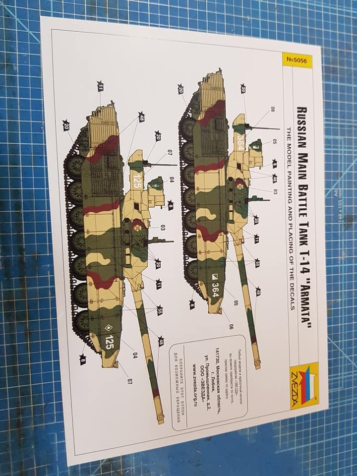 T-14 Armata zvezda 1/72 74167710