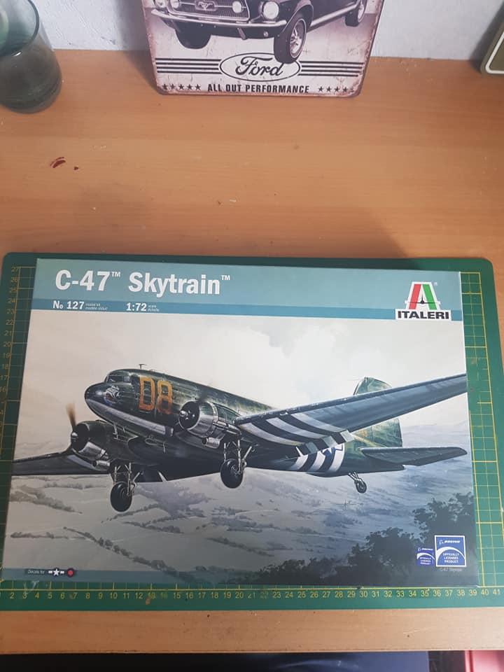 C-47 skytrain 1/72 en hommage à la base 112 86179510