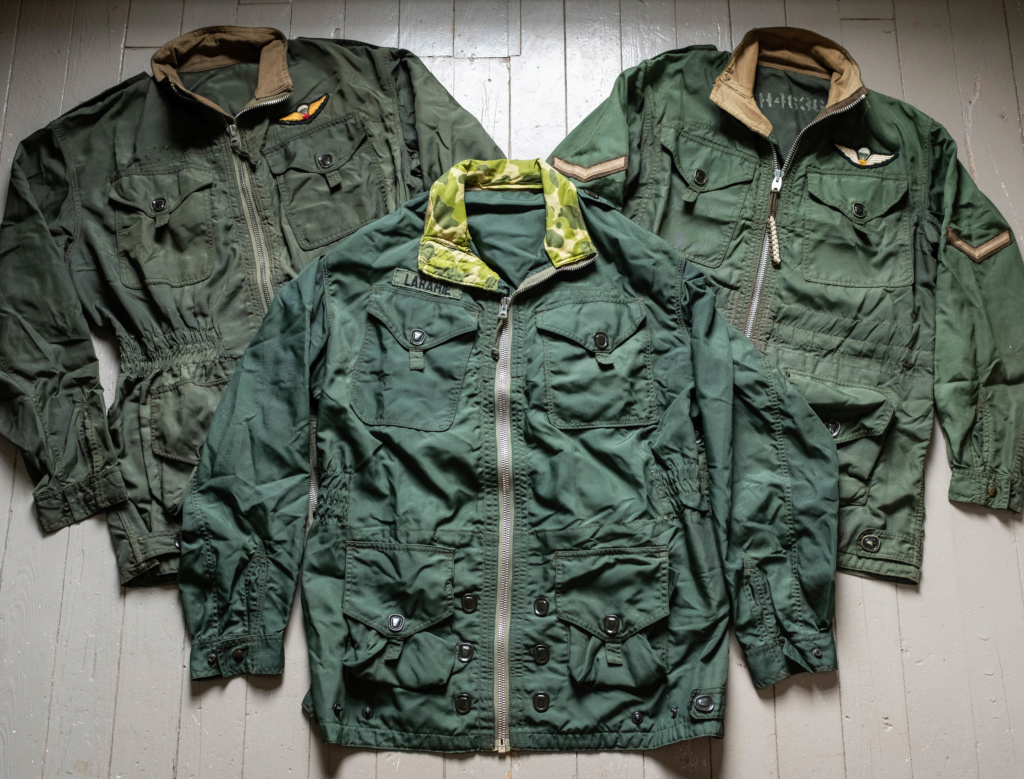 Looking for old (WW2, post war, Korea) Canadian Military Garments (Royal Canadian Navy, RCAF, Airborne, Army, etc). Parkas, Jackets, Smocks, Flight Suits Dscf7910