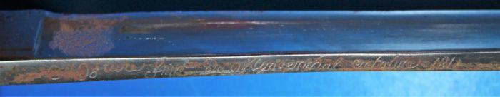 Gros doute sur un sabre en vente 2583e710