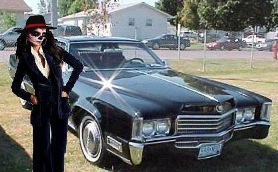 Cadillac Eldorado parking lot 35189713