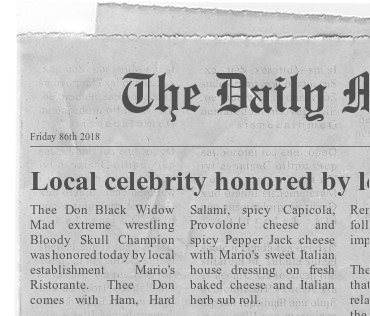 Thee Don is honored by local establishment Newspa10