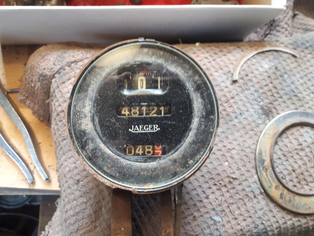 Reviser  le compteur de vitesse 20200356