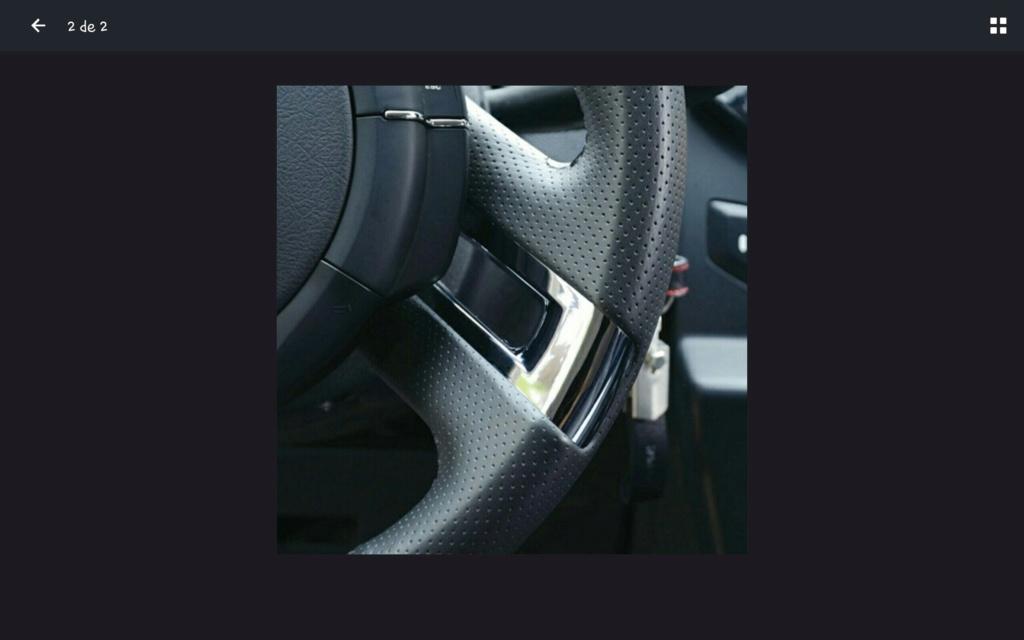 Metalizado del volante Screen13