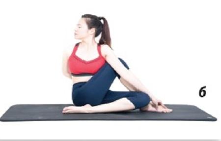 6 động tác yoga giúp trẻ lâu 6-dong16