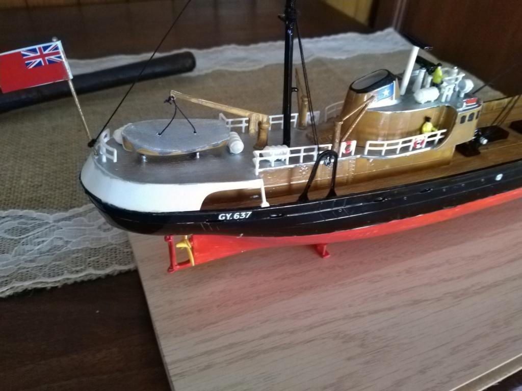 NorthSea Fishing Trawler Revell_Premier projet Img_2011