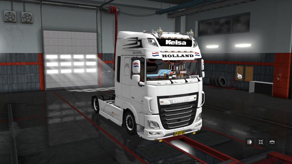 DAF XF EURO 6 Holland Style Skin by DAF Trucker Ets2_210