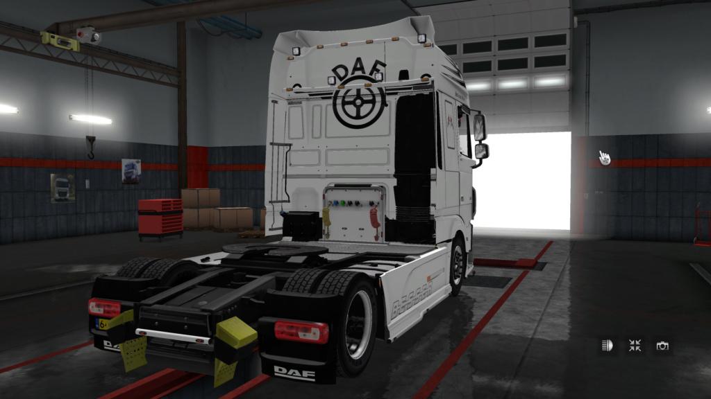 DAF XF EURO 6 Holland Style Skin by DAF Trucker Ets2_211