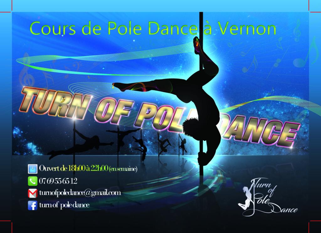 [VERNON en NORMANDIE] Turn of Pole Dance Flyer_10