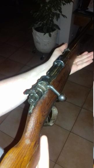 Fusil Mauser inconnu 20180911
