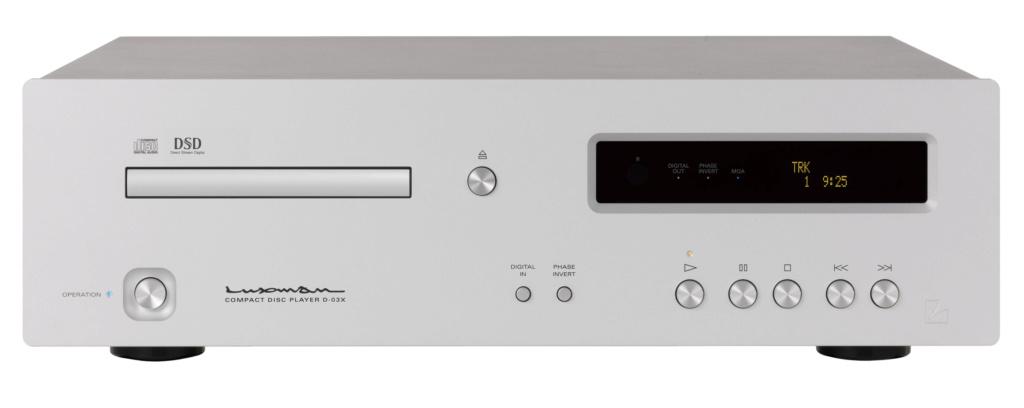 LUXMAN D-03X Reproductor CD y MQA-CD con entrada USB. Gb110