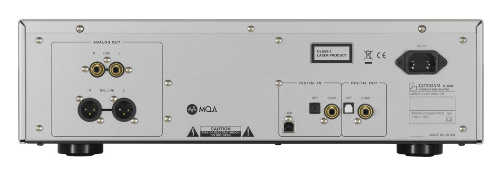 LUXMAN D-03X Reproductor CD y MQA-CD con entrada USB. Gb210