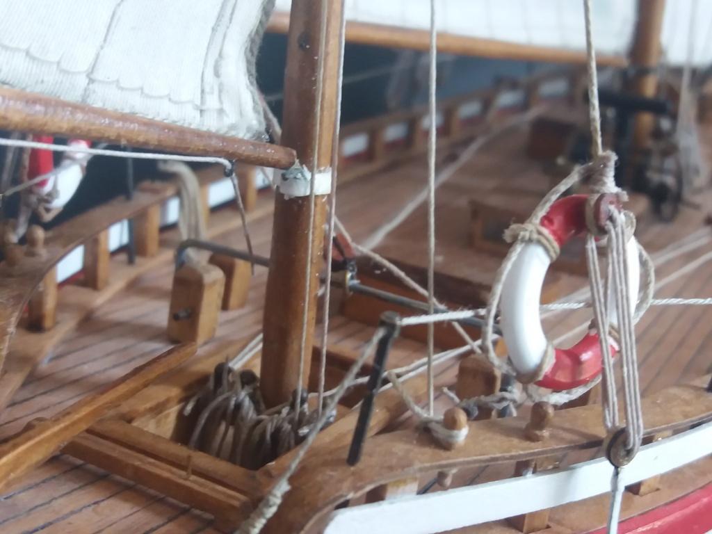 Collin Archer de Billing Boats - Page 2 3110