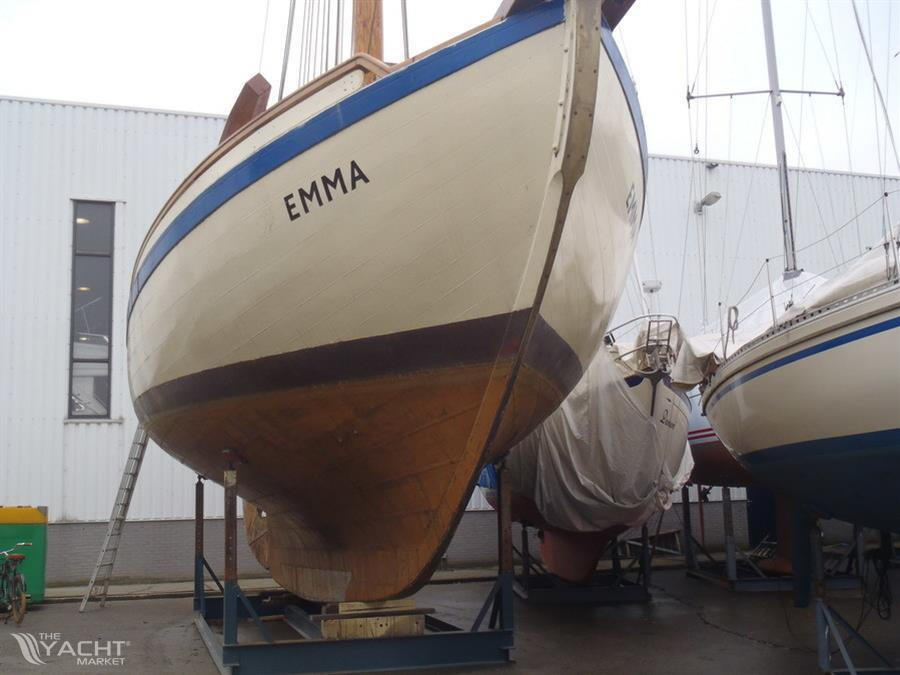 Collin Archer de Billing Boats Coque-10