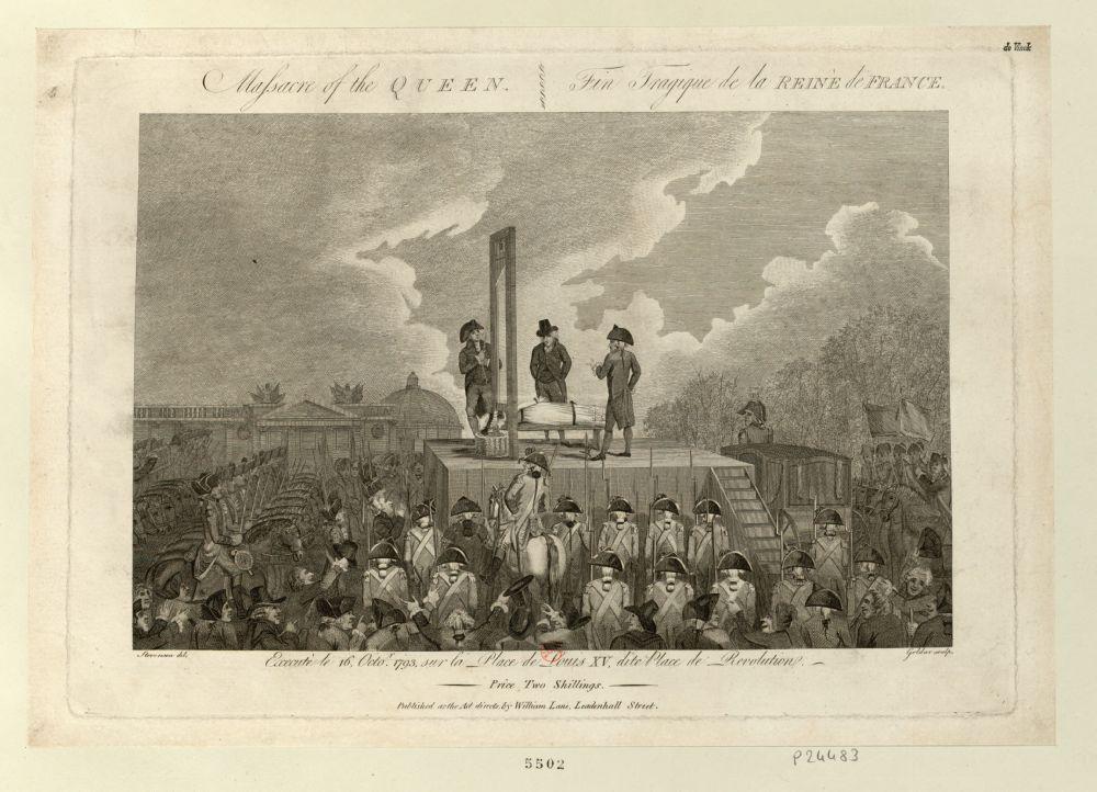 Marie Antoinette  conduite au supplice - Page 9 Duskov15