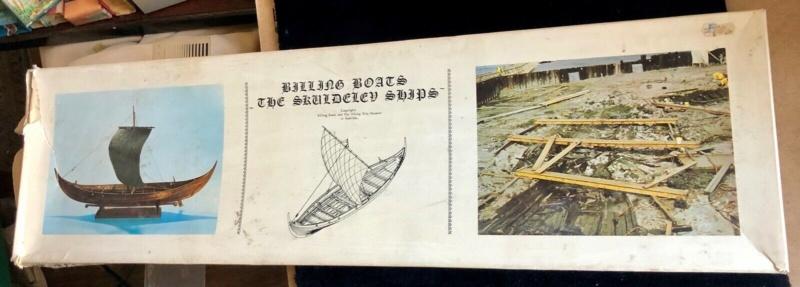 SKULDELEV 3 BILLING Boats Wikinger Boot in Maßstab 1:25  Verpac10