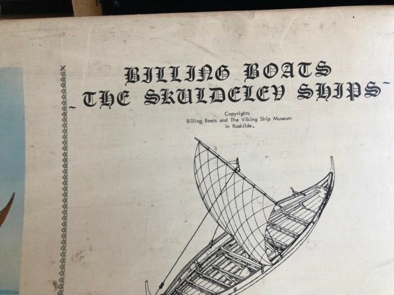 SKULDELEV 3 BILLING Boats Wikinger Boot in Maßstab 1:25  Verpac12