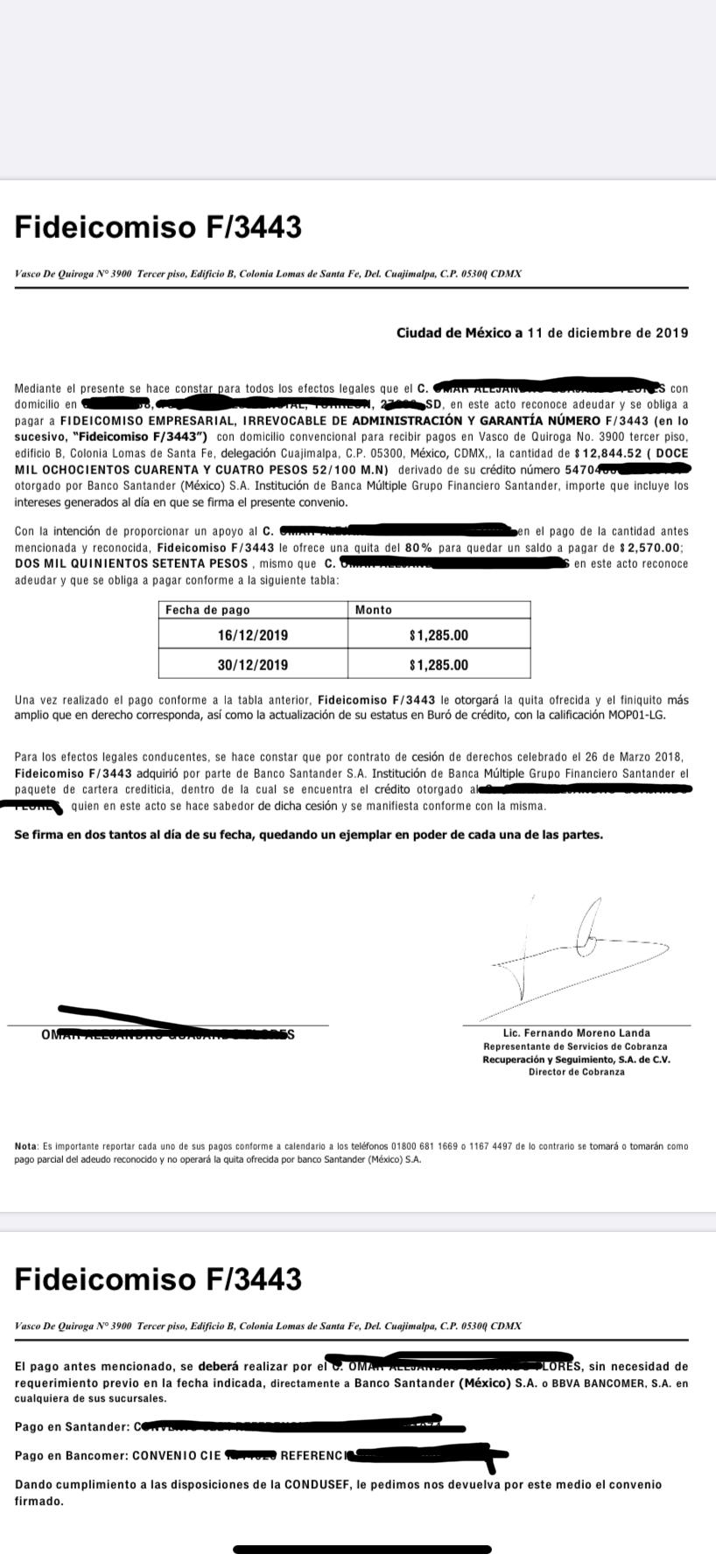 Deuda con Santander Captur10