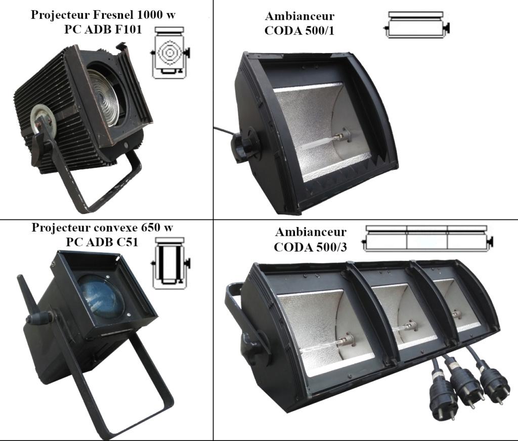 Mise à disposition du matériel lumière de l'ABCD Projos11