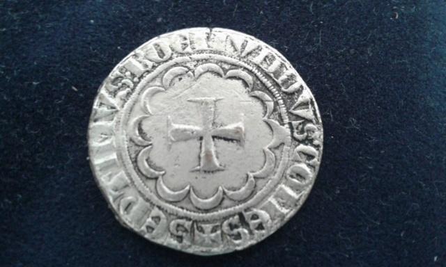 Faux Gros au castel du Comté de Tripoli, pour Bohémond VII ... pub Théraplix ... S-l16018