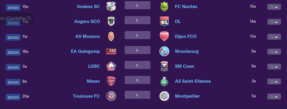 Calendrier Ligue 1 saison 01 0170