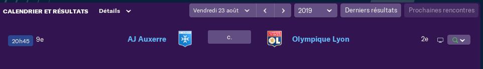 4ème journée de Ligue 1 Lundi 15 H 0560