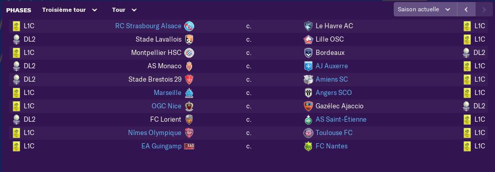 Tableau Coupe de la Ligue   0648